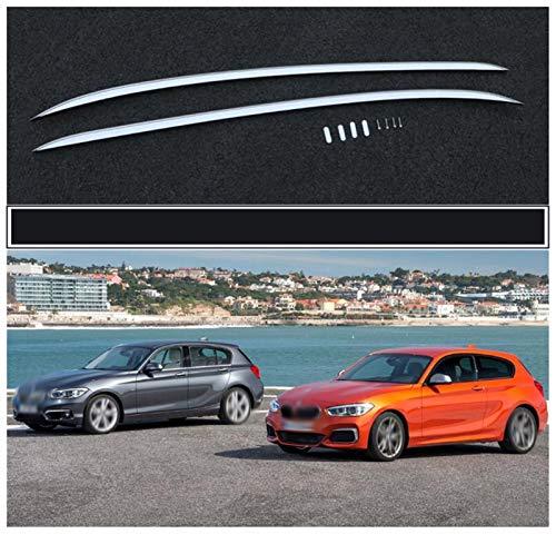 Portaequipajes para coches Barra de techo en forma for el BMW Serie 1 F20 Hatchback de 5 puertas rieles 2012-2018 aleación de aluminio barra portaequipajes barras superiores Bar racks Cajas Rail