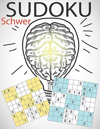 SUDOKU Schwer für Erwachsene: Rätselbuch für Fortgeschrittene und Profis – 200 schwere Zahlenrätsel auf hochwertigem Papier - für Kenner