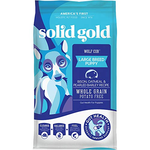Solid Gold – Wolf Cub with Real Bison and Oatmeal – Natural Large Breed Puppy Food