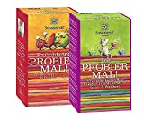 Sonnentor: bio Probier mal Paket: Tee Probier mal! 20 verschiedene Kräutertees + Früchtetee Probier mal! 20 verschiedene Früchtetees, sei neugierig! BIO-AT-301