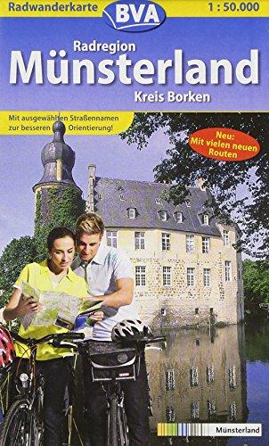 Price comparison product image Radregion Munsterland. Kreis Borken. 1 : 50 000. Radwanderkarte: Mit neuer 100 Schlosser Route. Mit ausgewahlten StraÃennamen zur besseren Orientierung!