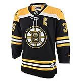 Reebok Zdeno Chara Boston Bruins NHL Youth Kinder Premier Jersey Trikot - Black -