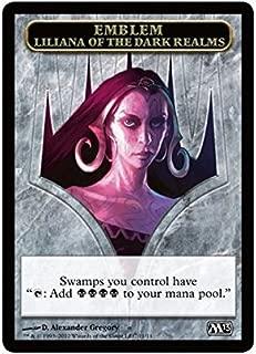 Magic: the Gathering - Emblem - Liliana of the Dark Realms (11) - Magic 2013