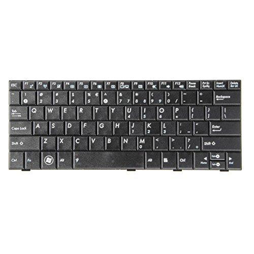 Green Cell® Laptop Tastatur für Asus Eee-PC 1001 (Tastenbelegung: US English   Farbe: Schwarz)