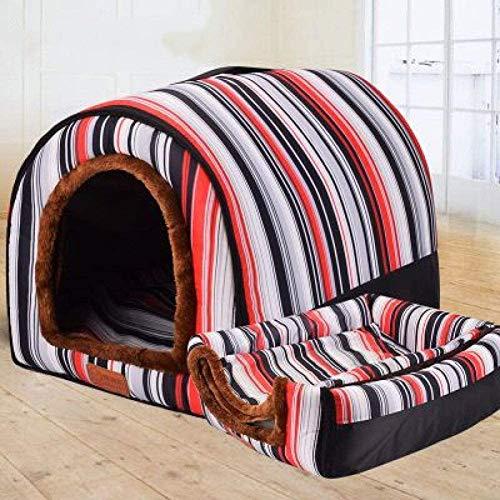 Hundebett Puppy Sofa Nette Hot Dog Printed Haustiere Pad Betten Weich Luxuxhaustier-Sofa Für Kleine Hunde Katzen,S