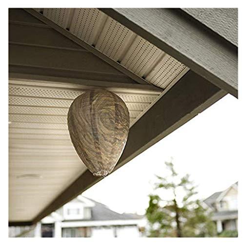 ZEELIY Schädlingsbekämpfer, Bienenwaben Laterne Wasp Deterrent Yellowjackets Bienenhornissen Fake Wasp Nest Simulierte Deterrent für Treibe die Wespe(2Packs-10Packs)