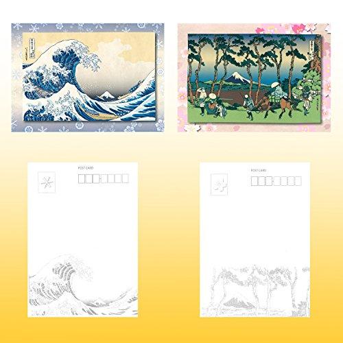 『日興美術 ポストカード 富嶽名作選 四季の富士山 10枚セット NRS0015』のトップ画像