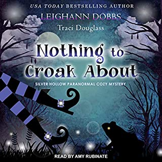 Nothing to Croak About audiobook cover art