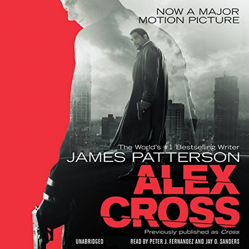 Alex Cross audiobook cover art