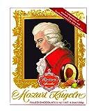 Feinste Reber Mozart-Kugel, in der 12er Barock-Packung, 240g, in Zartbitter-Chocolade,frei von künstlichen Konservierungsstoffen, frei von Farbstoffen,frei von Palmfett, Made in Germany