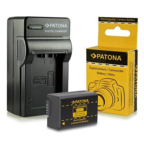 Caricabatteria + Batteria Panasonic DMW-BMB9 E | Leica BP-DC9 E per Panasonic Lumix DMC-FZ40 | DMC-FZ45 | DMC-FZ47 | DMC-FZ48 | DMC-FZ60 | DMC-FZ62 | DMC-FZ70 | DMC-FZ72 | DMC-FZ100 | DMC-FZ150 - Leica V-LUX 2 | V-LUX 3