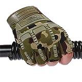 SFHGanti - skid taktische halben finger handschuhe für männliche besondere soldaten im bergsteigen,blinden farbe,m