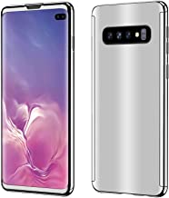 Ailicici for Samsung Galaxy S10e | S10 | S10+ case Ultra Slim Electroplate 360 Degree Full Body Thin Cover Protection Mirror Case with Film Screen Protector (S10+, Silver)