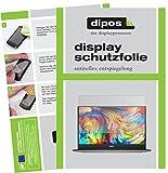 dipos I 2X Schutzfolie matt kompatibel mit Dell XPS 13 (9360) Folie Bildschirmschutzfolie