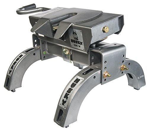 Husky 31668 26K-W Wrap Around Jaw 5th Wheel Hitch with Uprights, 26,000 lb Capacity