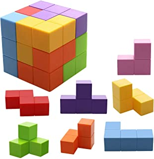 Magnetic Toys Magic Cubes Stress Relief for Adults Magnet Blocks for Kids Magnetic Building Blocks Bricks Toy Educational Puzzles