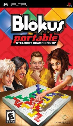 Jogo Blokus Portable Steambot Championship PSP