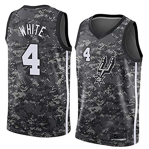 IFYG Traje de Baloncesto de Spurs de la NBA A S