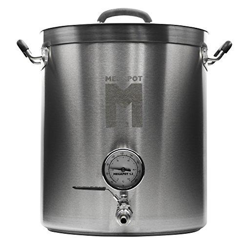 Megapot Stainless Steel 10-Gallon Brew Kettle
