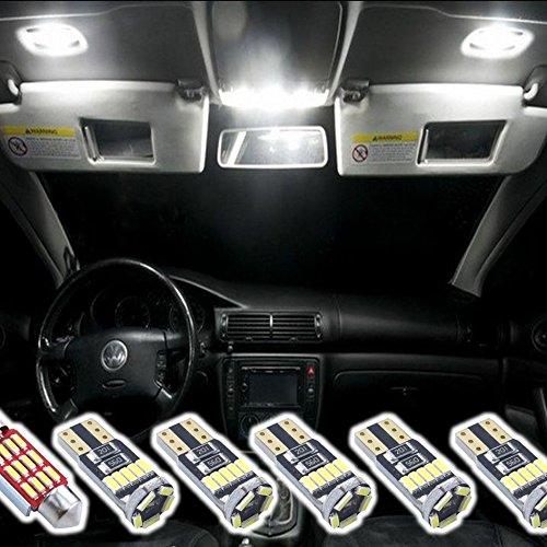 Do!LED - Kit d'éclairage intérieur à LED 4014 SMD 6 pièces - Xénon blanc - Canbus - Pas de message d'erreur