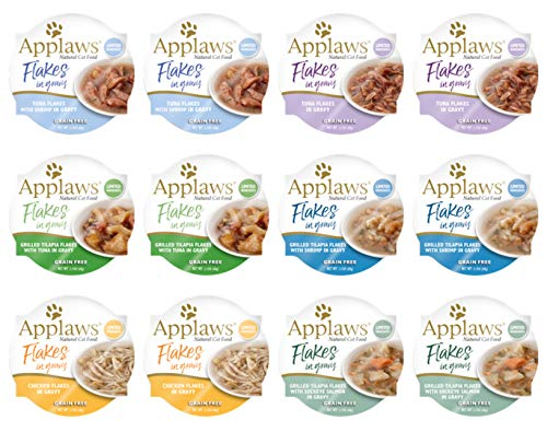 Applaws Flakes in Gravy Cat Pots Variety Pack