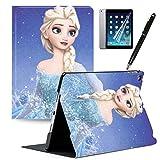 GSPSTORE iPad 9.7 2018/2017 Case with Auto Sleep/Wake Cartoon Cute Frozen iPad case Also Fit iPad Air 2 / iPad Air#10