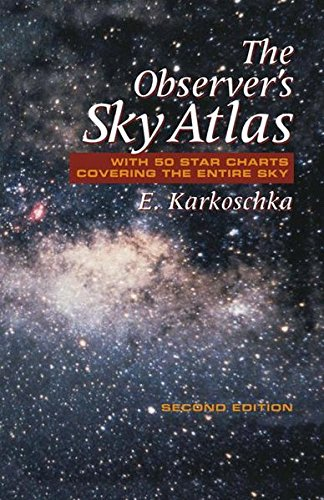 Download The Observer's Sky Atlas: With 50 Star Charts Covering the Entire Sky 0387986065