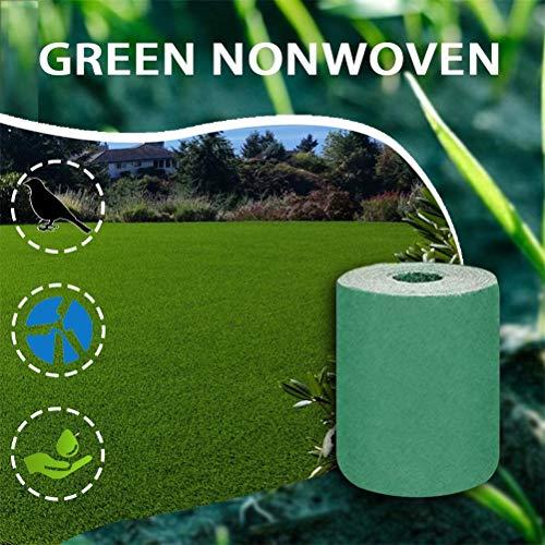BSTEle Grassamenmatte, Vlies Rasensamen Matte Biologisch Abbaubare ökologische Seed Starter Mat Pflanzenmatte für Garten Rasen