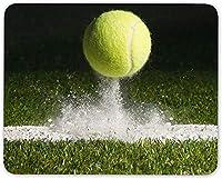 10 x 12インチマウスパッド、テニスグラスコートウィンブルドンのマウスマットパッド-スポーツプロコンピューターギフト