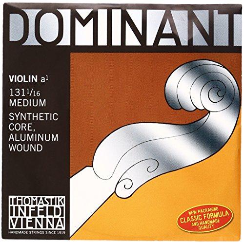 Thomastik Saiten für Violine Dominant Nylonkern 1/16 Größe; A Alu.