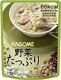 野菜たっぷり豆のスープ