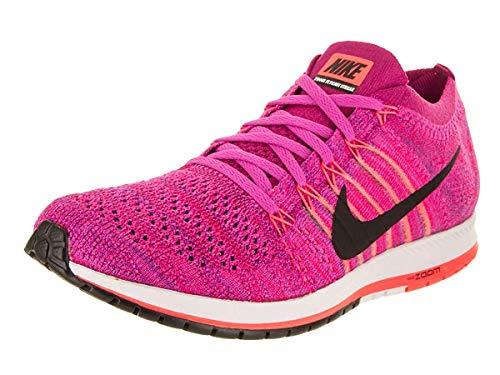 Nike Flyknit Streak Zapatillas de running unisex (Fireberry/Black-Racer Pink), 11.5 D(M) US/13 B(M) US)