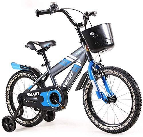 Children's Bicycles 2-4 Years Old Boys and Girls Mountain Bikes 12-inch Baby's Cycles with Menial Ladies Wheel (Color : 1) 1