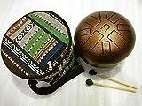 IMPI Big size 11 Inch Professional accurate tuned Happy drum/Tongue drum/handpan