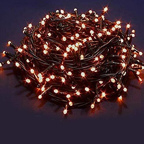 Bakaji Catena Luminosa 1000 Luci LED 55 Metri con Controller 8 Funzioni Impermeabile IP44 per uso...