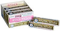 ロッテ キシリトールホワイト<シャインミント> 14粒×20個
