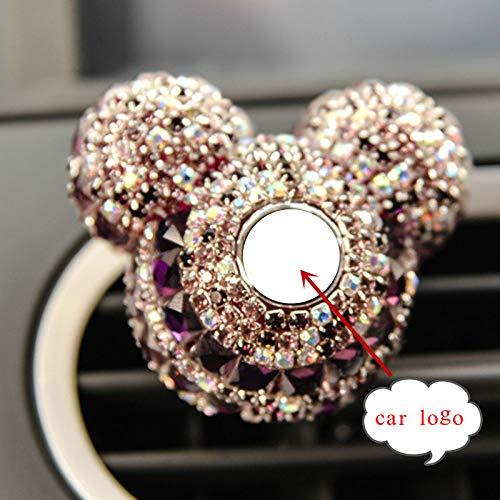 BOZNY Perfume Coche Logotipo Coche Perfume Diamante