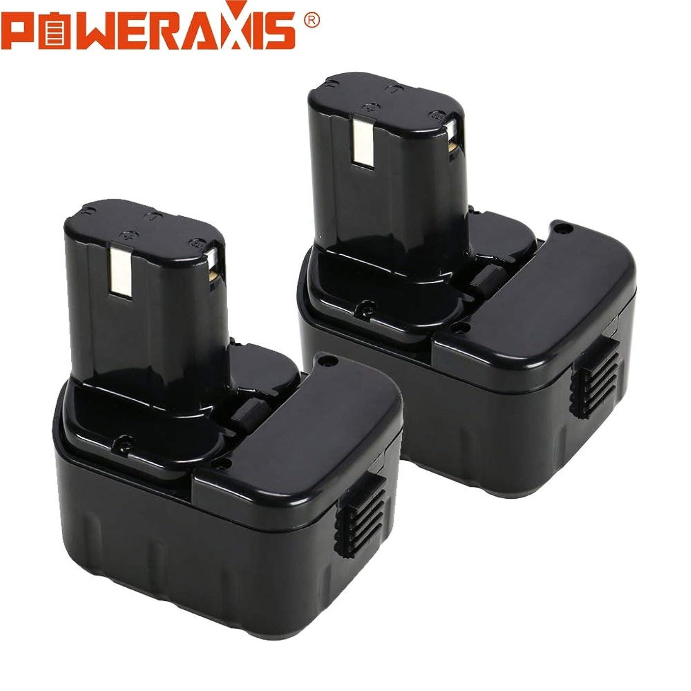 作る悪意豊富【日本出荷】【1年保証】Hitachi 日立 12V ニッケル水素電池 互換バッテリー BCC1215 EB1212S EB1214S EB1214L EB1220BL EB1230HL EB1230R EB1230X EB1233X など対応 3000mAh 電動工具用 2個セット