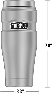 MARVEL - Spider-Man Spider Team THERMOS STAINLESS KING Stainless Steel Travel Tumbler, Vacuum insulated & Double Wall, 16