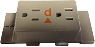 Receptacle for Herman MIller AO2 & Ethospace Systems