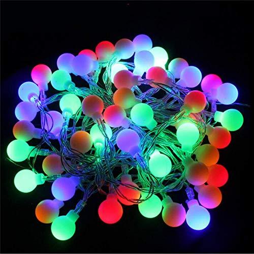 Miwaimao Landia - Guirnalda de luces LED RGB (5 m, 40 ledes, 220 V)