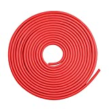 Car Door Edge Protector 16Ft(5M) Car Edge Trim Rubber Seal Protector with U Shape Car Protection Door Edge Guard Fit for Most Car (Red)