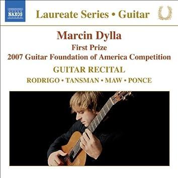 Guitar Recital: Dylla, Marcin - RODRIGO, J. / TANSMAN, A. / MAW, N. / PONCE, M.