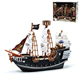 """Srenta 10"""" Pirate Boat Ocean Ship 