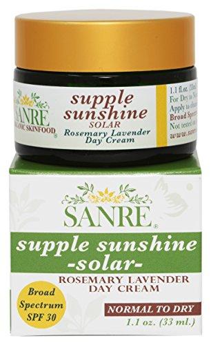 SanRe Organic Skinfood Sparkling Aloe-Solar Aloe Vera Day Cream SPF 30