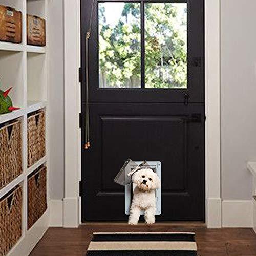 Ideal Pet Products Designer Series Ruff-Weather Pet Door com moldura telescópica, pequeno, 12,7 x 23,8 cm Tamanho da aba