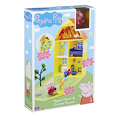 Peppa Pig 06156 Peppa's House & Garden Playset from Character Options