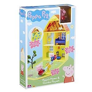 Peppa Pig 06156 - Maletín de JuegoCasa y jardín de Peppa