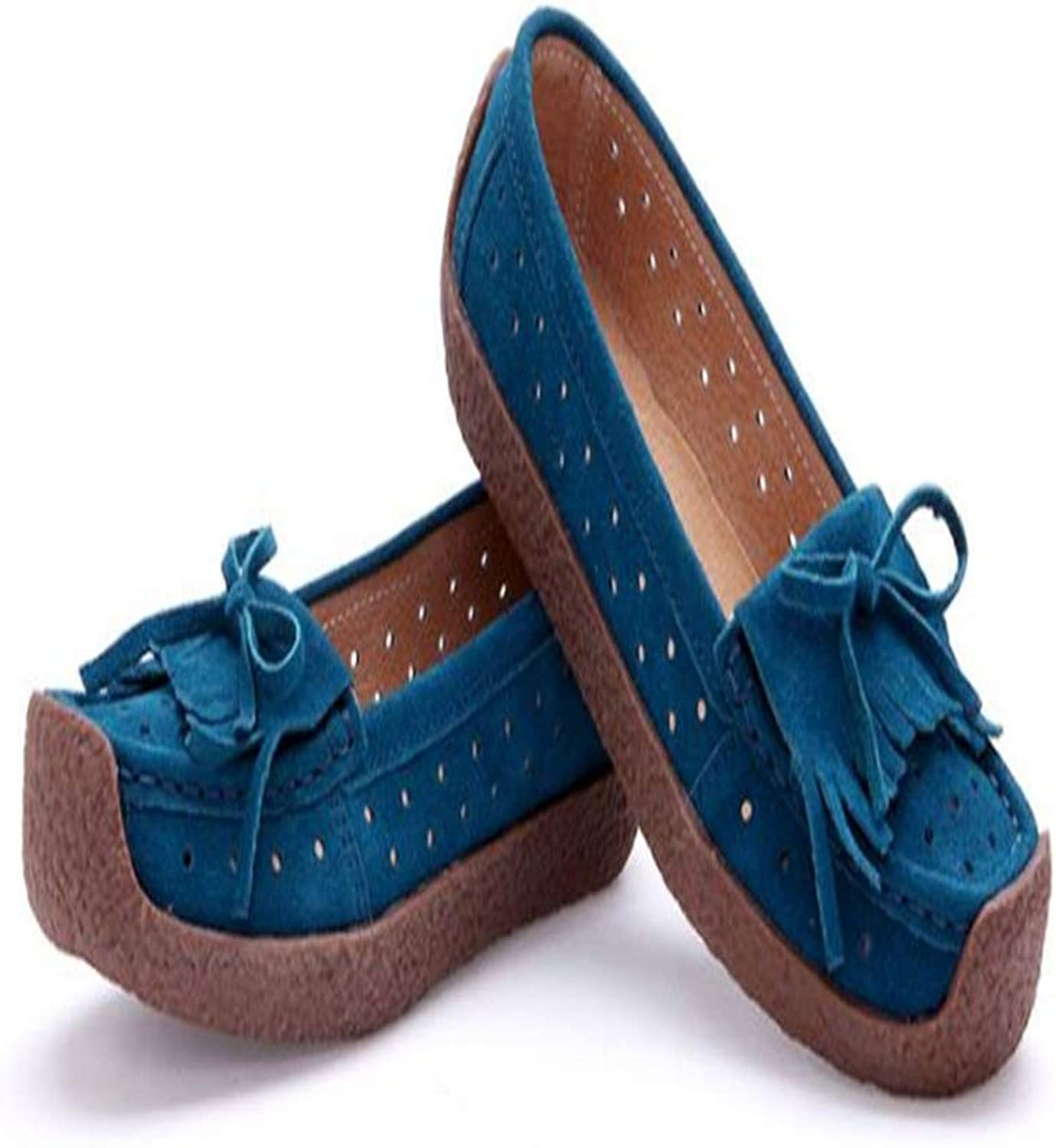 Quality.A Driving shoes Retro Women's shoes Flat shoes Loafers Walking shoes