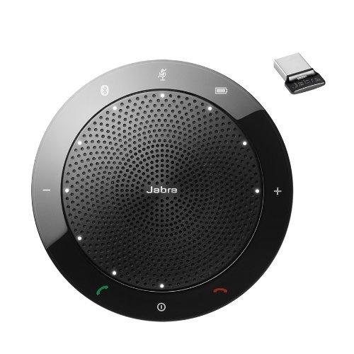 Jabra Speak 510 MS & Link 370 - Professional Unified Communicaton Speakerphone (Renewed)
